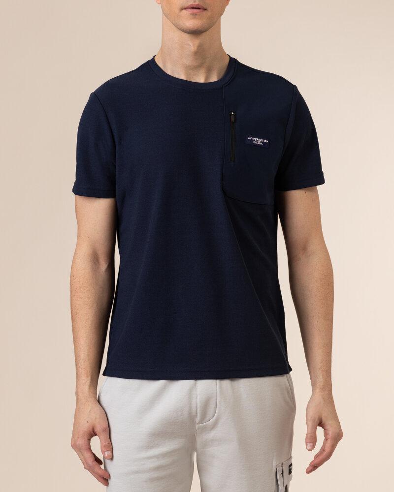 T-Shirt North Sails | Prada 452309_NAVY BLUE granatowy - fot:2