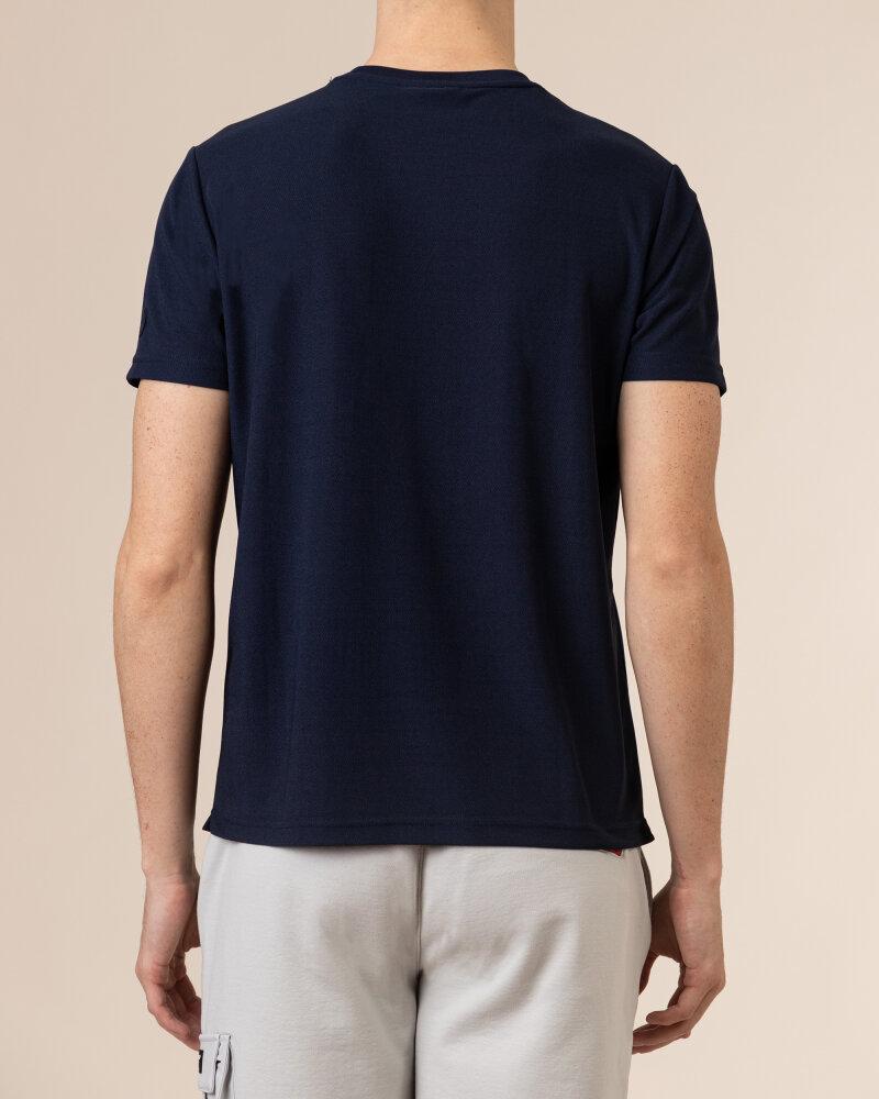 T-Shirt North Sails | Prada 452309_NAVY BLUE granatowy - fot:5