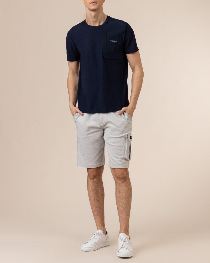 T-Shirt North Sails | Prada 452309_NAVY BLUE granatowy - fot:6