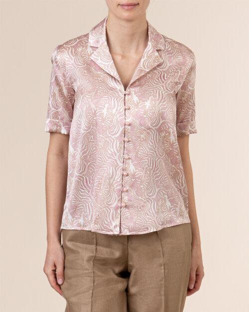 Bluzka Cavaliere 68VS21260_ZEBRA_08 różowy