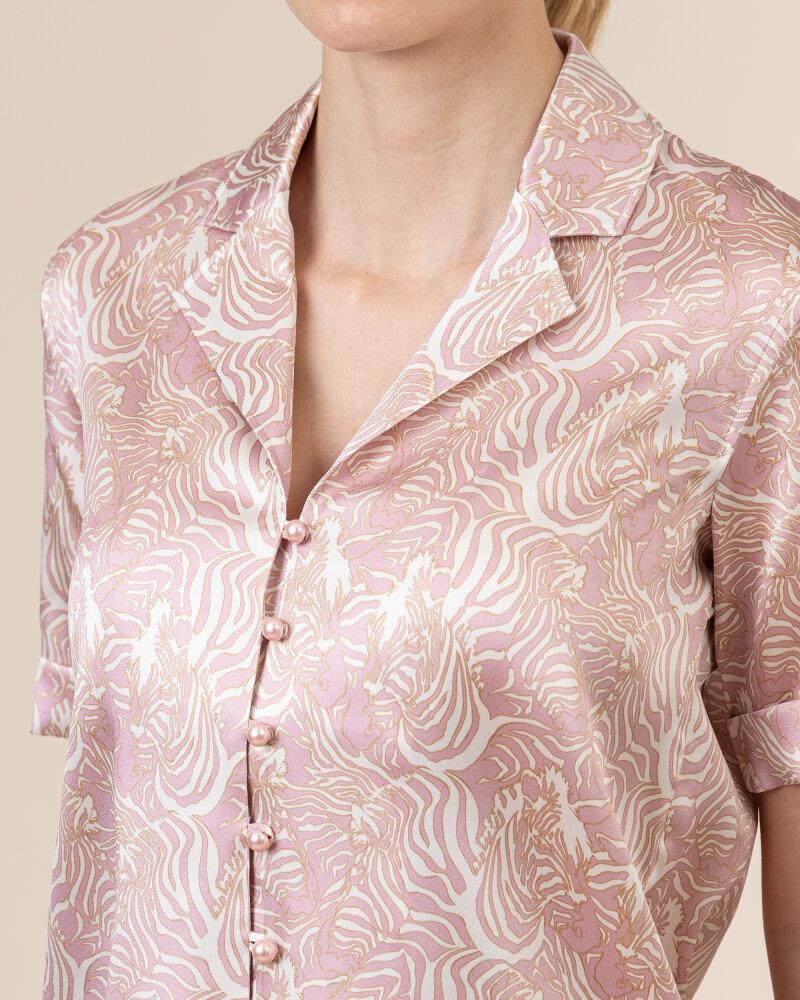 Bluzka Cavaliere 68VS21260_ZEBRA_08 różowy - fot:3