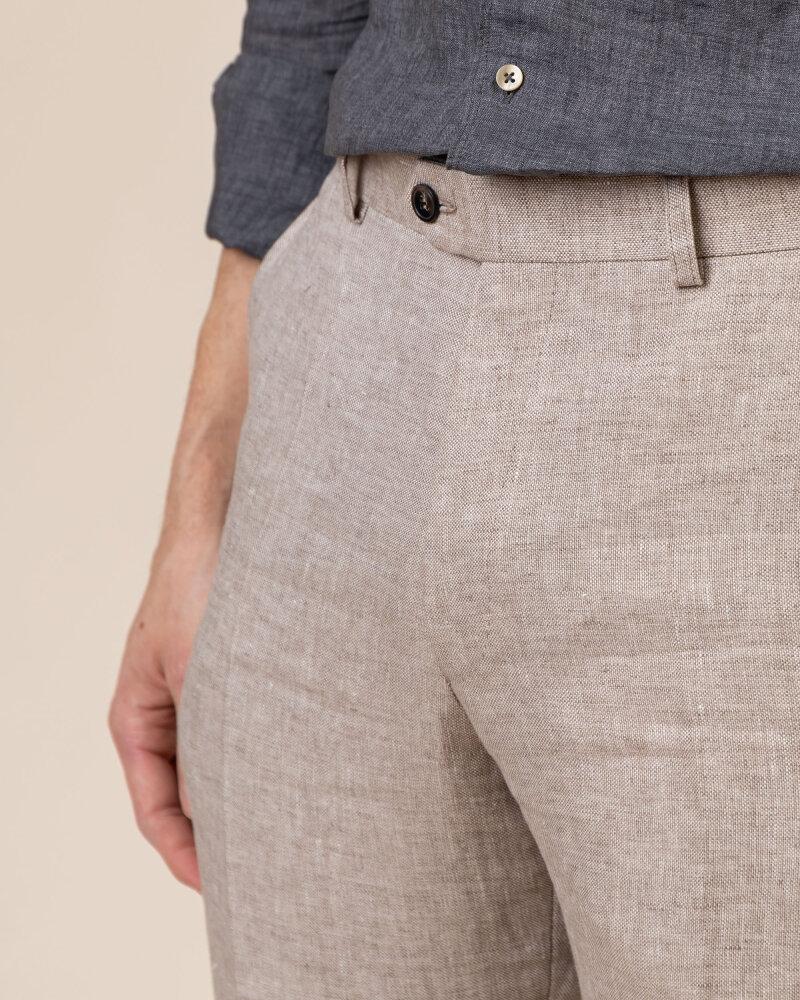 Spodnie Oscar Jacobson DENZ 5170_8747_470 beżowy - fot:3