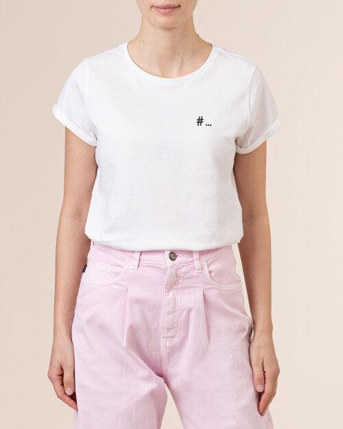 T-Shirt Iblues NOTAION_79711012_006 biały