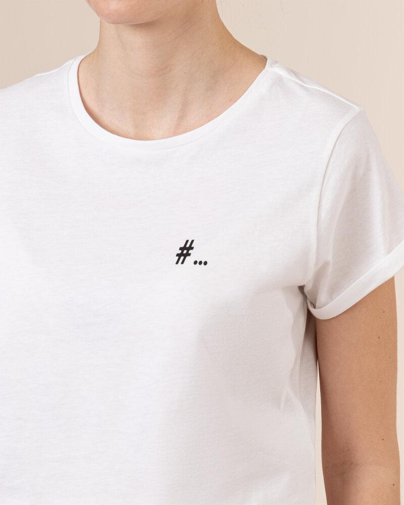 T-Shirt Iblues NOTAION_79711012_006 biały - fot:3