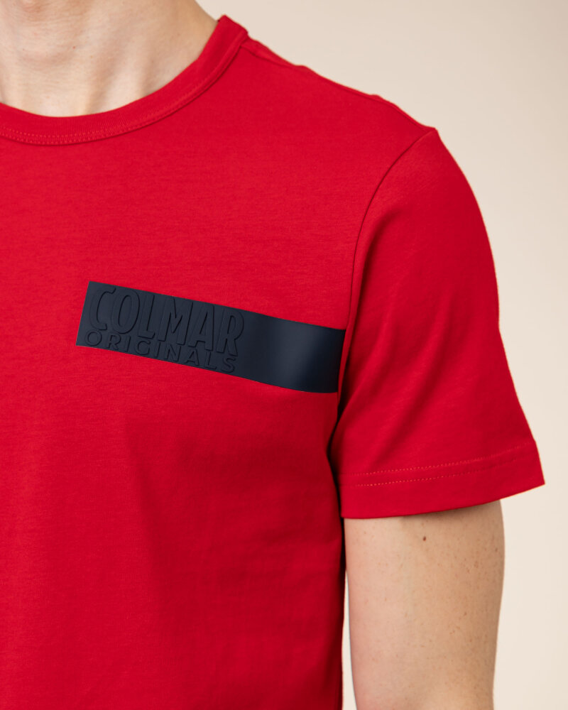 T-Shirt Colmar 7561R_6SH_193 czerwony - fot:3