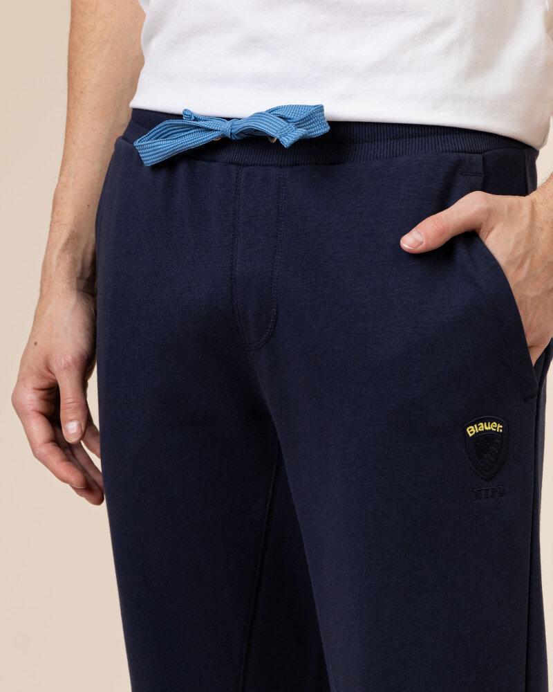 Spodnie Blauer BLUF07122_5662_802 granatowy - fot:3