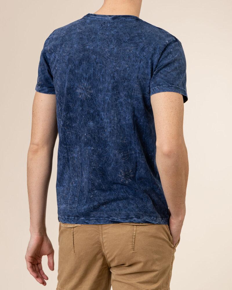 T-Shirt Bomboogie TM6921_JMON_20F granatowy - fot:4