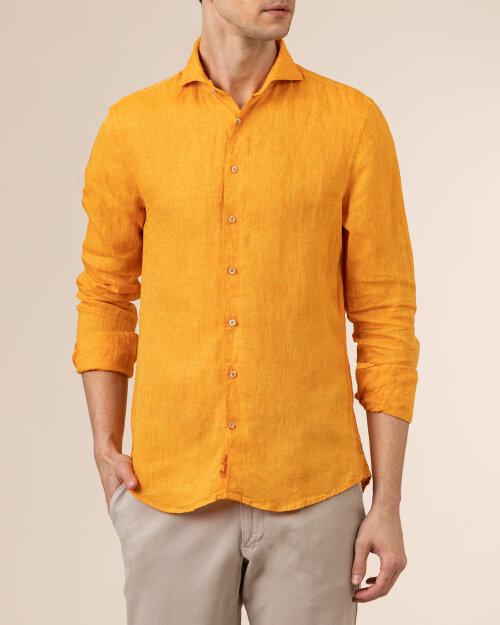 Koszula Stenstroms 775221_7970_750 pomarańczowy