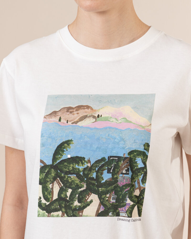 T-Shirt Iblues GIOCHI_79710412_001 biały - fot:3