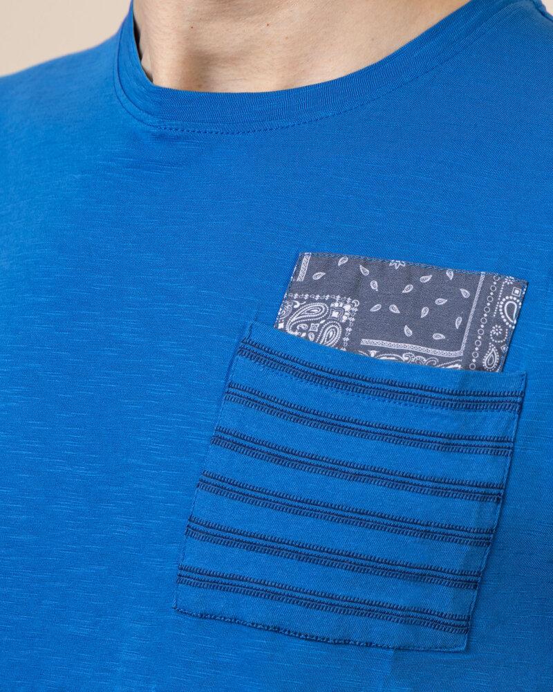 T-Shirt Bomboogie TM6965_JSSG_229 niebieski - fot:3