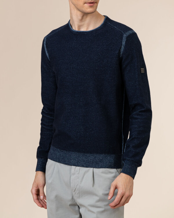 Sweter Camel Active 5K12409542_47 granatowy