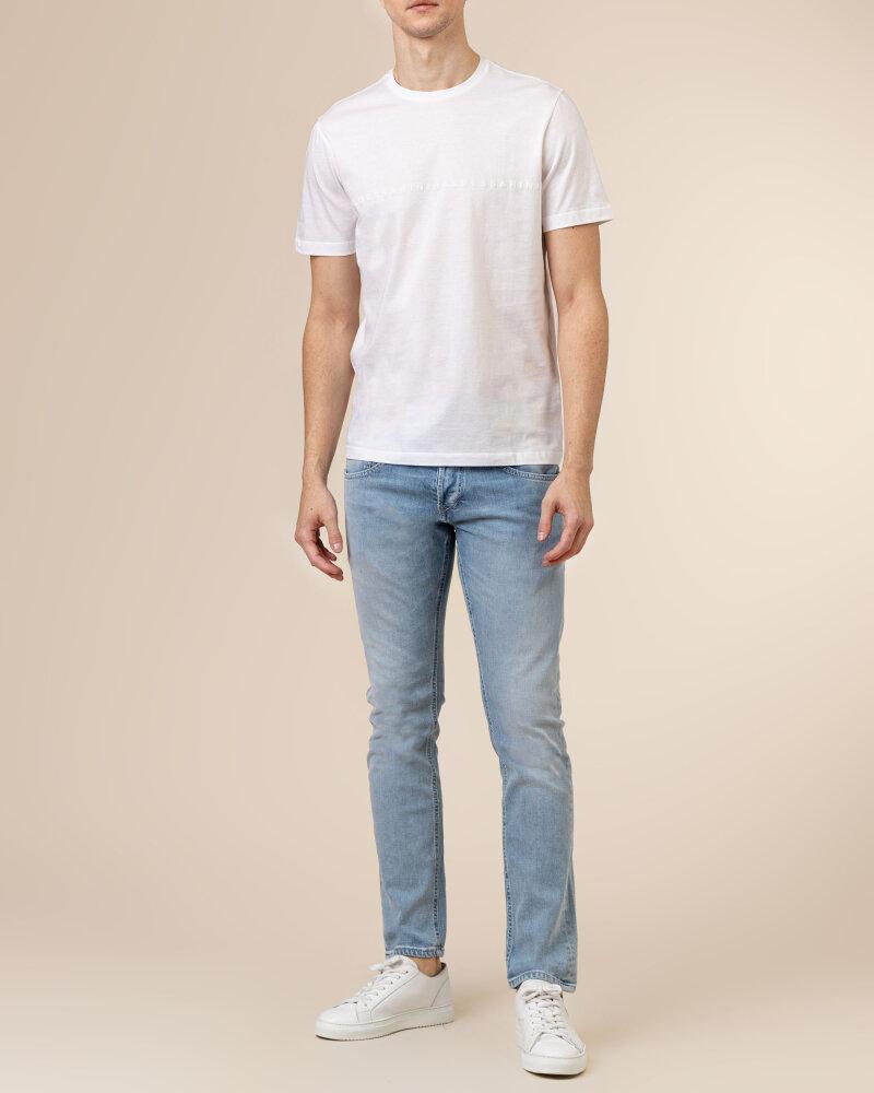 T-Shirt Baldessarini 5015_20009_1010 biały - fot:5