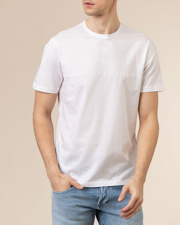 T-Shirt Baldessarini 5015_20009_1010 biały