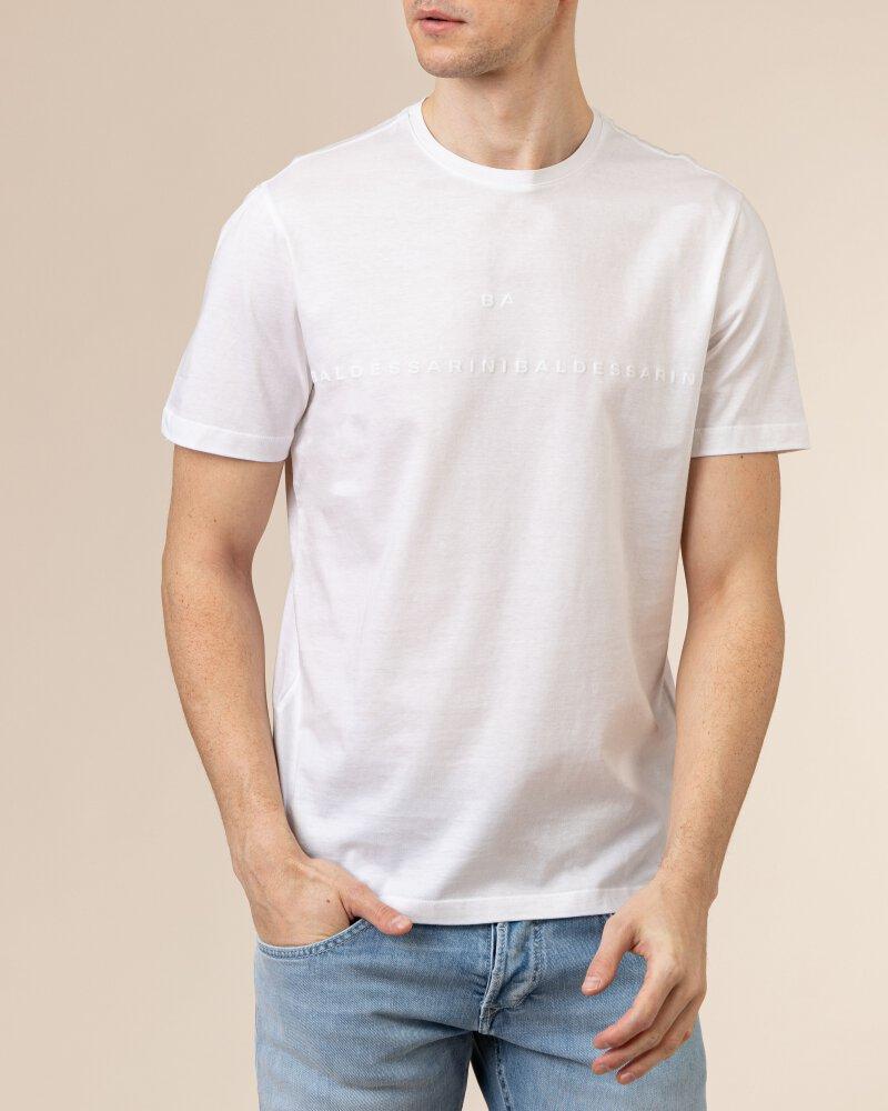 T-Shirt Baldessarini 5015_20009_1010 biały - fot:2
