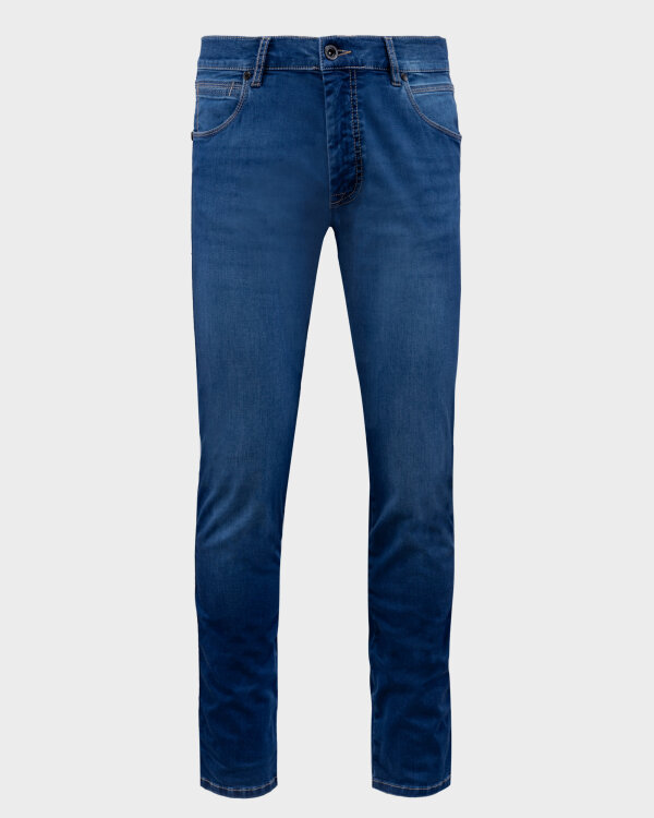 Spodnie Bugatti 76645_ 3038D_363 niebieski