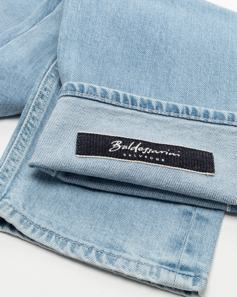 Spodnie Baldessarini 1469_16587_6859 niebieski - fot:5