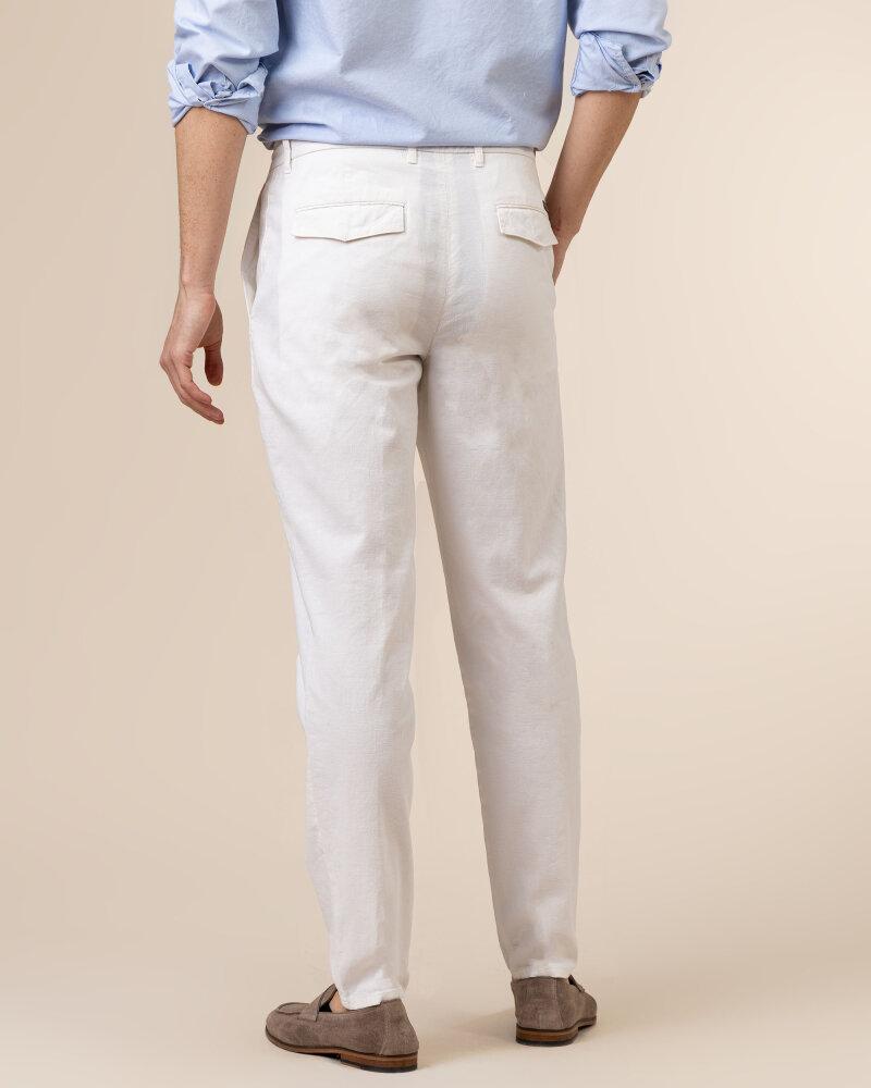 Spodnie Baldessarini 6661_16846_1010 biały - fot:4