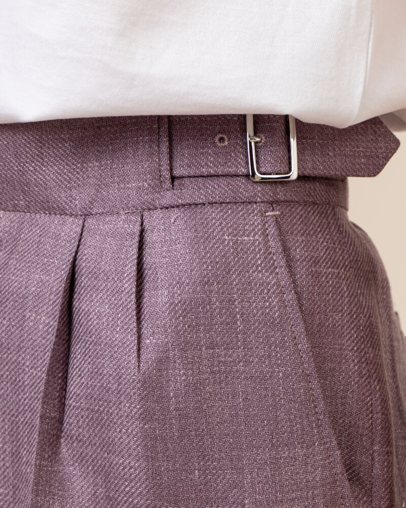 Spodnie Cavaliere 20VS21108_ELEANOR_62 fioletowy - fot:3