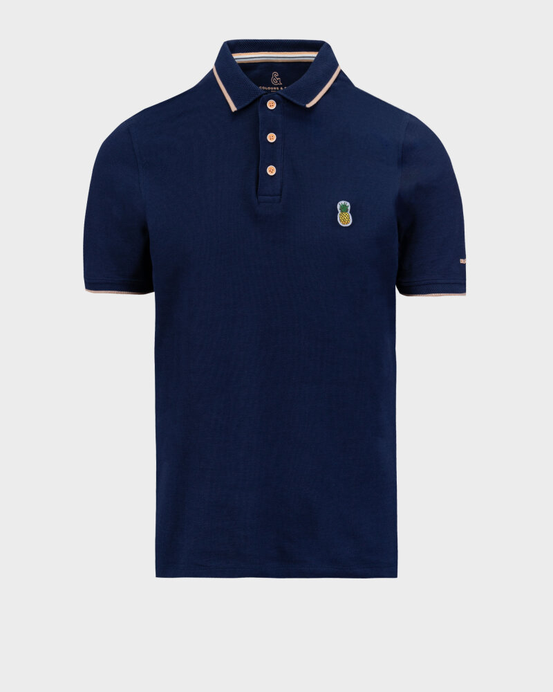 Polo Colours & Sons 9121-445_699 PINEAPPLE granatowy - fot:1