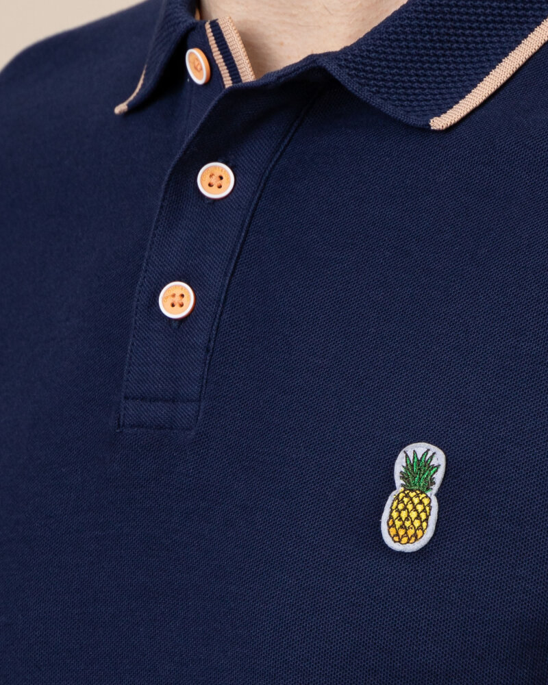 Polo Colours & Sons 9121-445_699 PINEAPPLE granatowy - fot:3