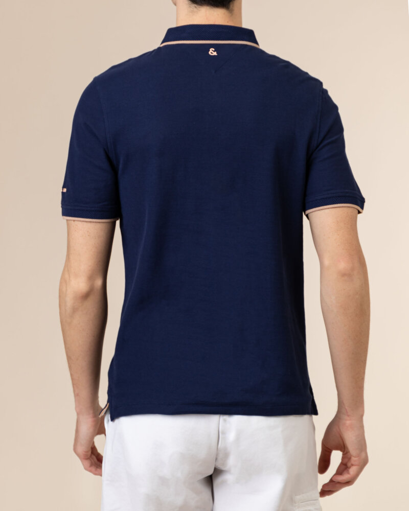 Polo Colours & Sons 9121-445_699 PINEAPPLE granatowy - fot:4