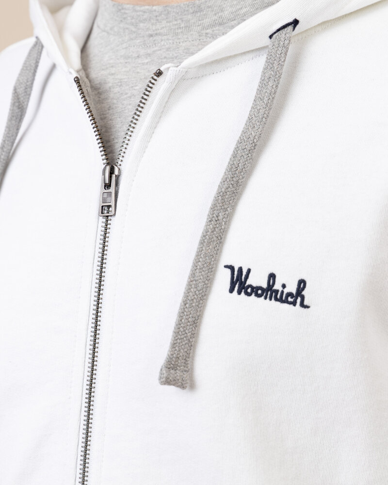 Bluza Woolrich CFWOSW0091MRUT2544_8041 biały - fot:3