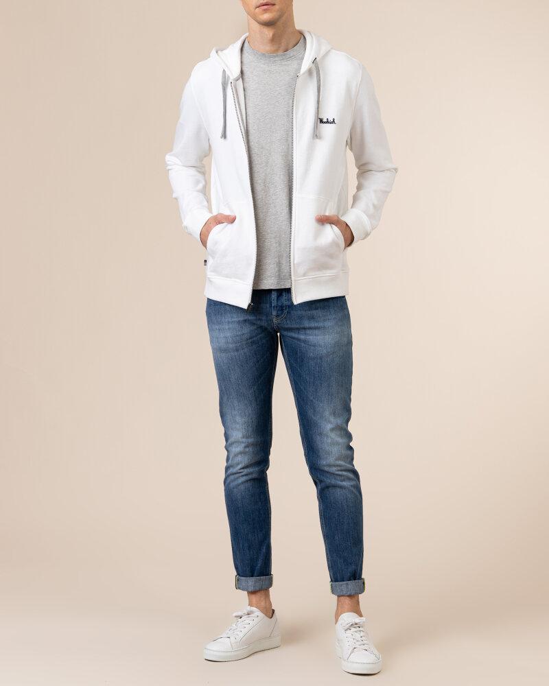 Bluza Woolrich CFWOSW0091MRUT2544_8041 biały - fot:5