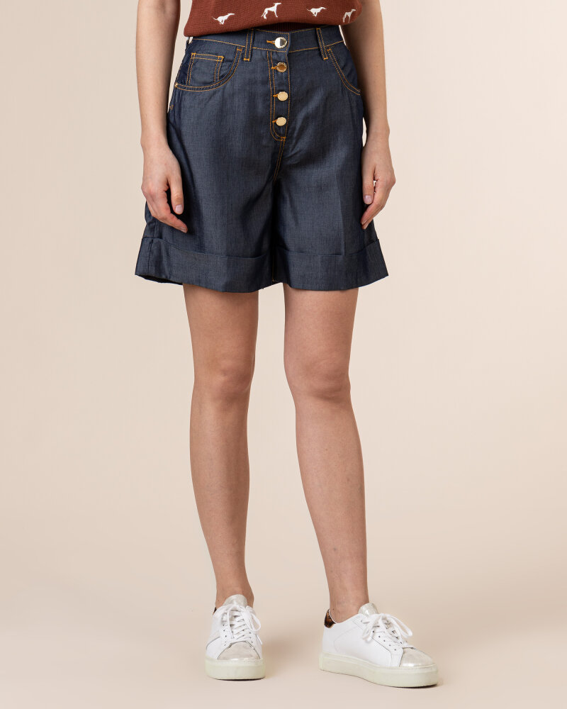 Spodnie Trussardi  56J00145_1T005188_U290 niebieski - fot:2