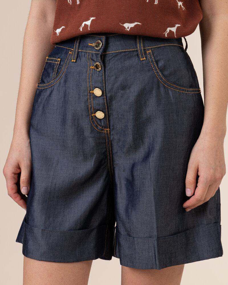 Spodnie Trussardi  56J00145_1T005188_U290 niebieski - fot:3