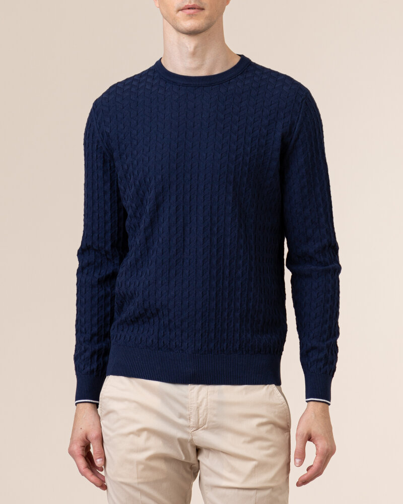 Sweter Navigare NV0023730_354 granatowy - fot:2