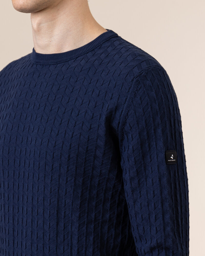 Sweter Navigare NV0023730_354 granatowy - fot:3