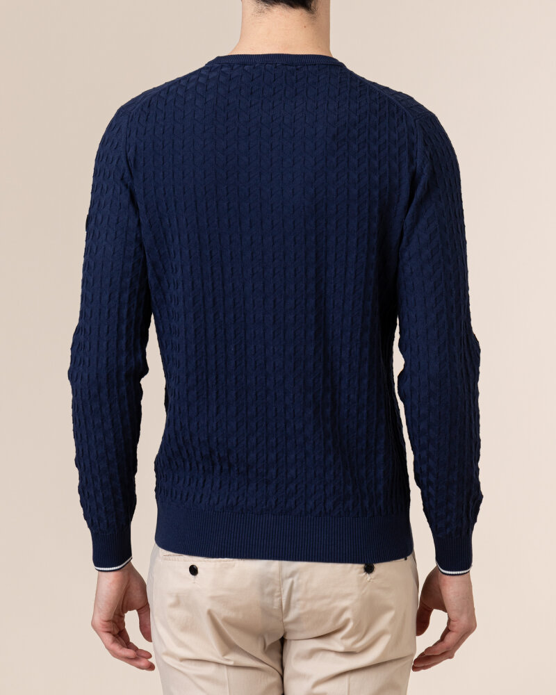 Sweter Navigare NV0023730_354 granatowy - fot:4