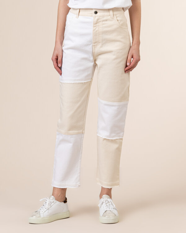 Spodnie Beatrice B 21FE1503IVORY_120 kremowy
