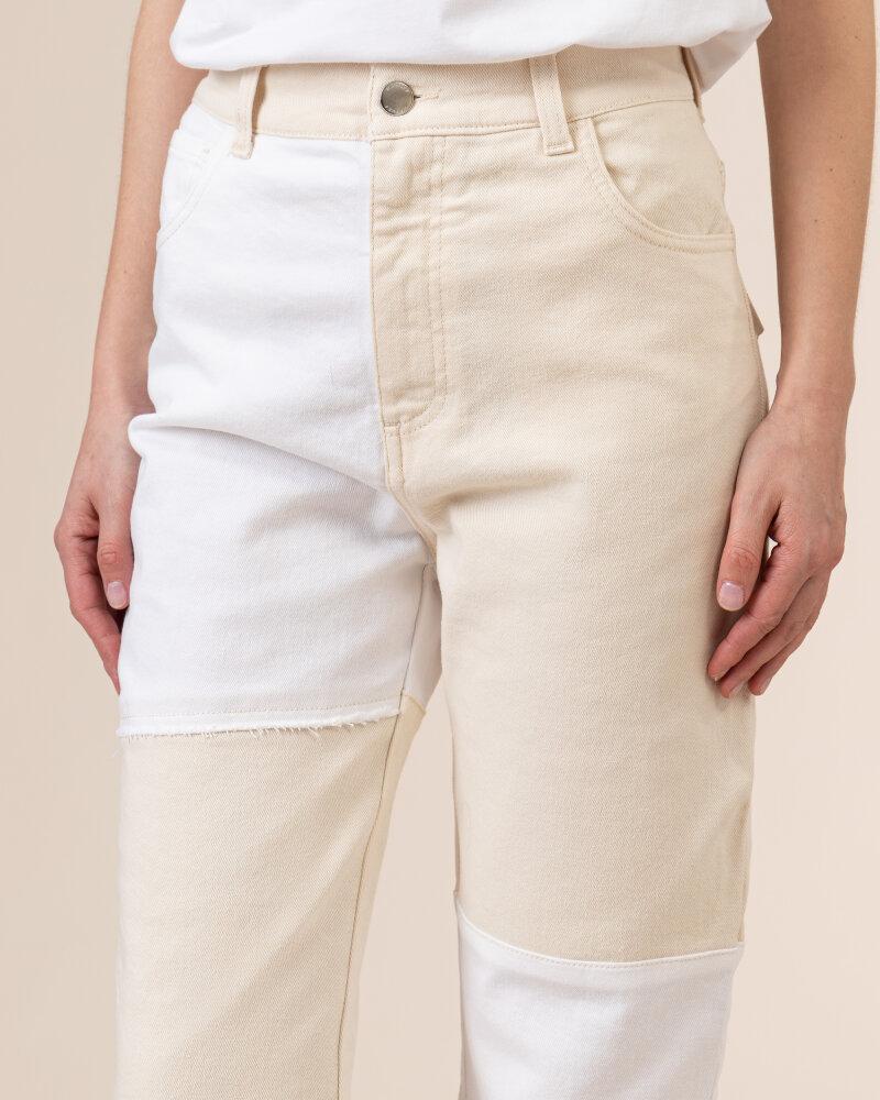 Spodnie Beatrice B 21FE1503IVORY_120 kremowy - fot:3