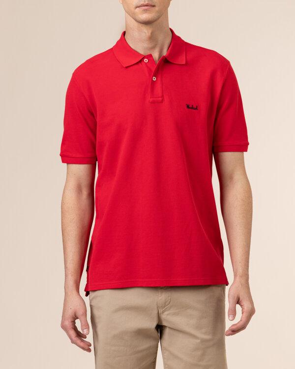 Polo Woolrich CFWOPO0027MRUT2555_5405 czerwony