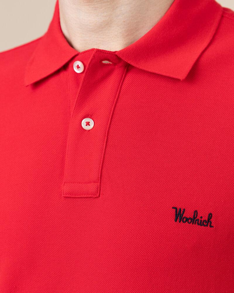 Polo Woolrich CFWOPO0027MRUT2555_5405 czerwony - fot:3
