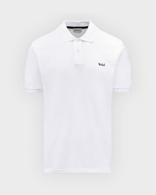 Polo Woolrich CFWOPO0027MRUT2555_8041 biały