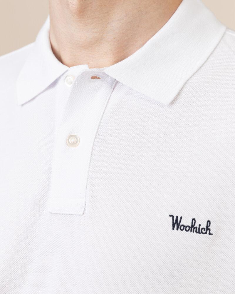 Polo Woolrich CFWOPO0027MRUT2555_8041 biały - fot:3