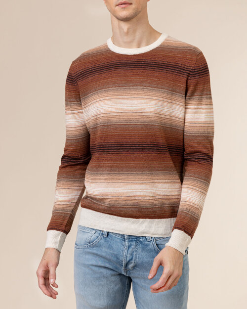 Sweter Baldessarini 5051_30015_8208 brązowy