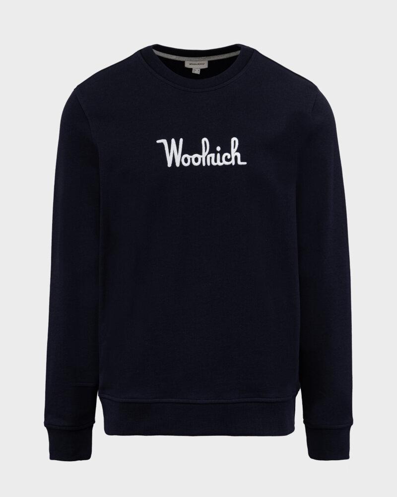 Bluza Woolrich CFWOSW0090MRUT2544_3989 granatowy - fot:1