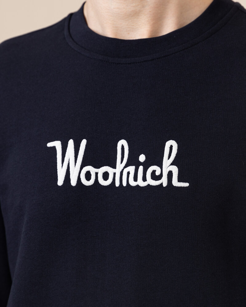 Bluza Woolrich CFWOSW0090MRUT2544_3989 granatowy - fot:3