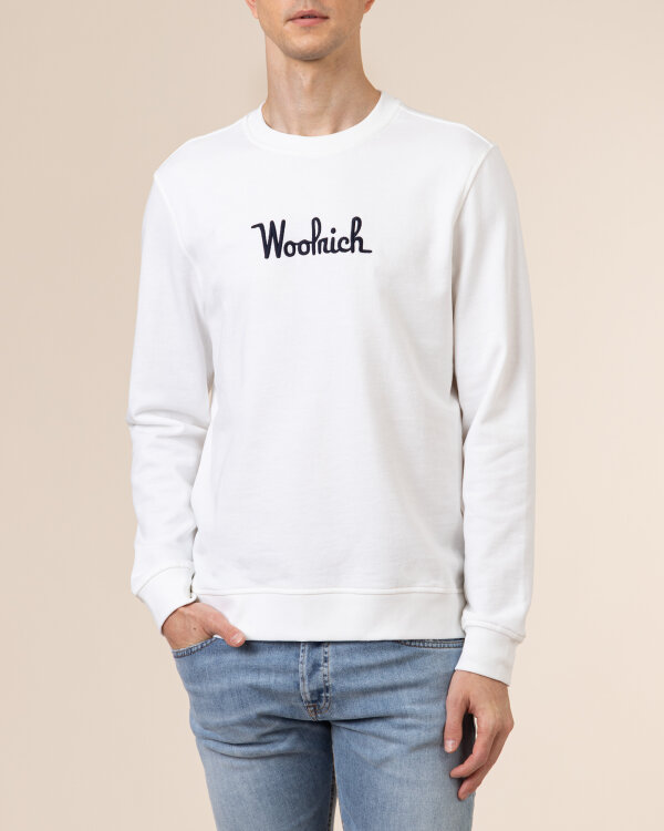 Bluza Woolrich CFWOSW0090MRUT2544_8041 biały