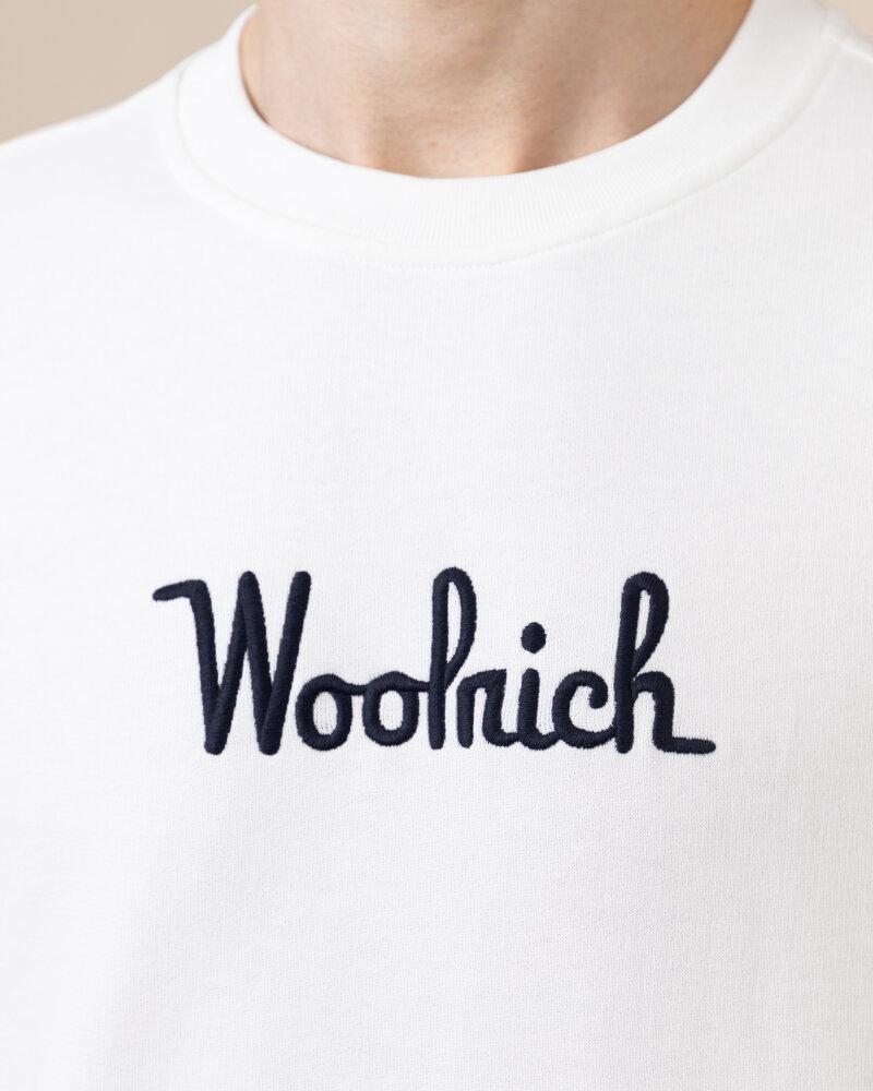 Bluza Woolrich CFWOSW0090MRUT2544_8041 biały - fot:3