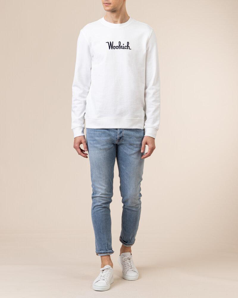 Bluza Woolrich CFWOSW0090MRUT2544_8041 biały - fot:5