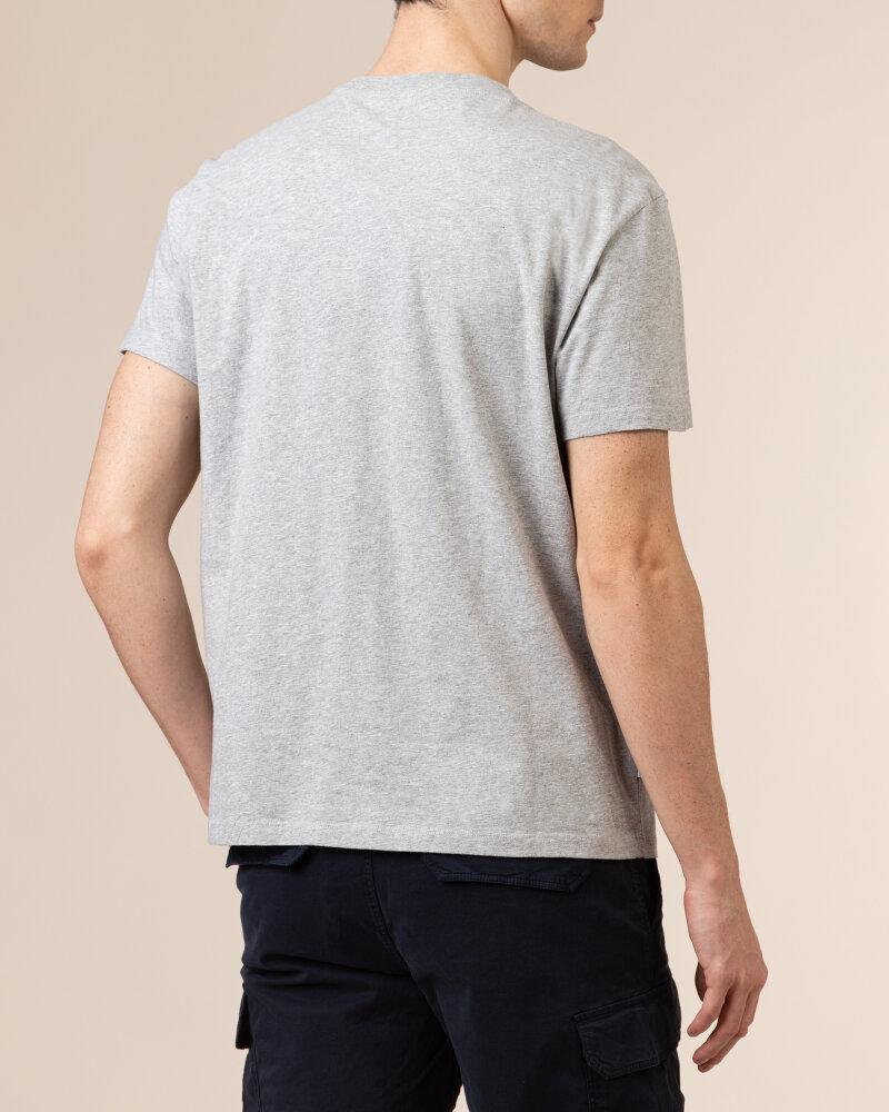 T-Shirt Woolrich CFWOTE0047MRUT1486_103 szary - fot:4