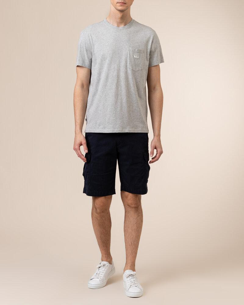 T-Shirt Woolrich CFWOTE0047MRUT1486_103 szary - fot:5