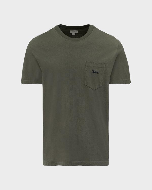 T-Shirt Woolrich CFWOTE0047MRUT1486_6024 khaki