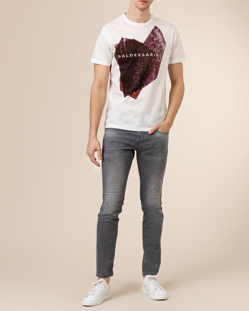 T-Shirt Baldessarini 5015_20013_1015 biały - fot:5