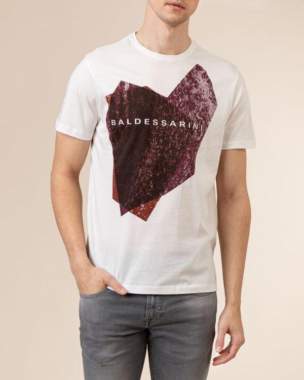 T-Shirt Baldessarini 5015_20013_1015 biały