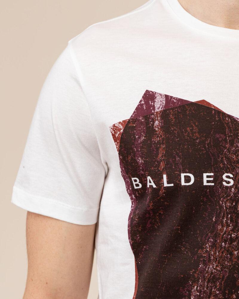 T-Shirt Baldessarini 5015_20013_1015 biały - fot:3